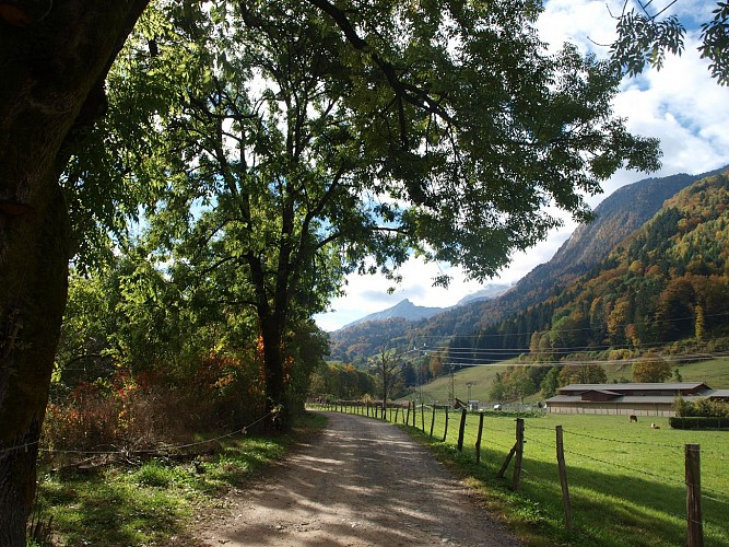 """""""Chemin de Paradis"""" walk"""