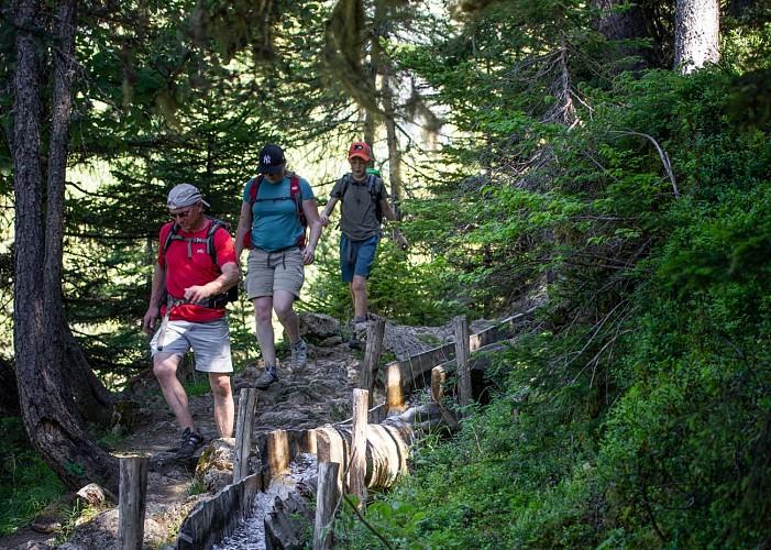 The Bief Bovet trail