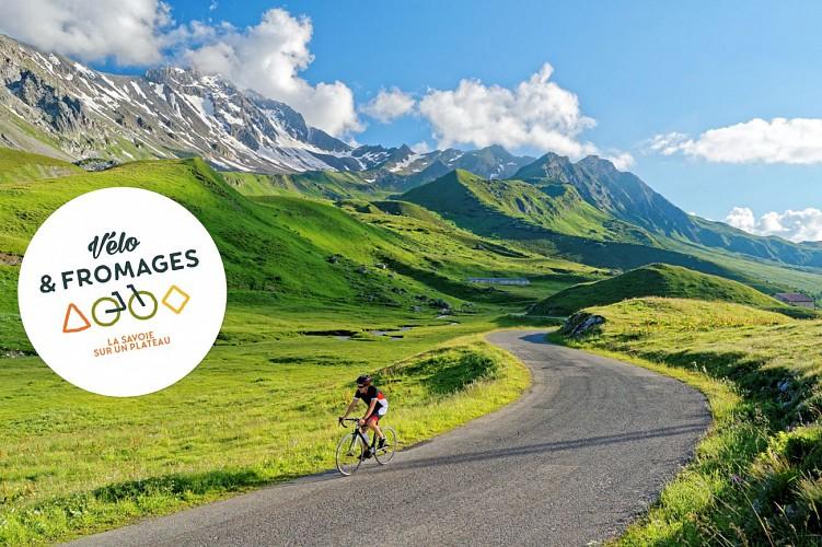 """itinéraire labellisé """"Vélo et Fromages"""""""