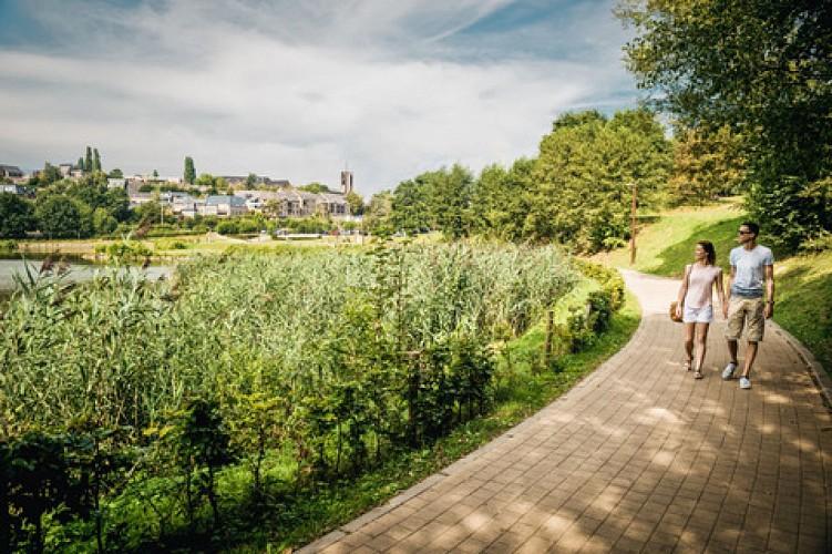 Rêverie du Promeneur Solitaire: tour du lac de Louvain-la-Neuve