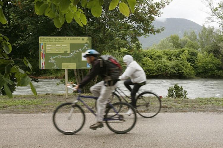 Parcours cyclable de la Garonne : Saint-Gaudens-Saint-Bertrand de Comminges