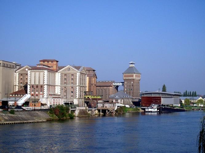 La Seine à Corbeil