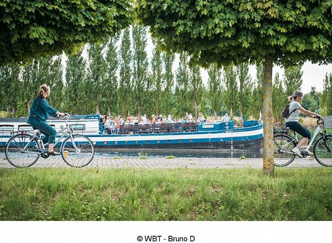 Kanäle und UNESCO- Welterbe im Herzen der Provinz Hennegau