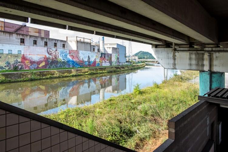 CHARLEROI - Street Art verfraait de stad