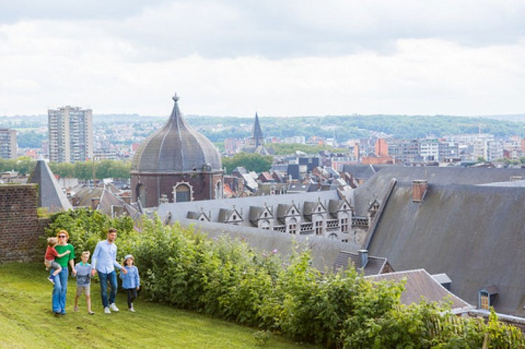 Liège - Jardins en terrasses