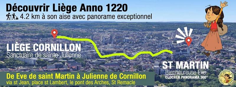 Découvrir Liège - Anno 1220 - De Saint-Martin à Cornillon