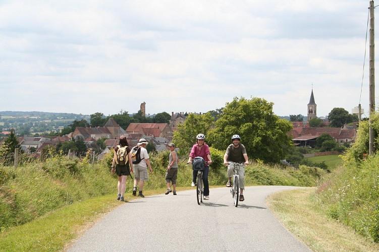 Circuit cyclo n°5 : De la Châtre à Ste Sévère sur les petites routes du Berry