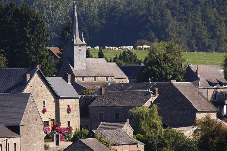 Chardeneux, un des Plus Beaux Villages de Wallonie