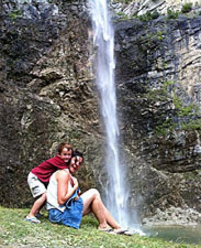 La cascade St Benoît