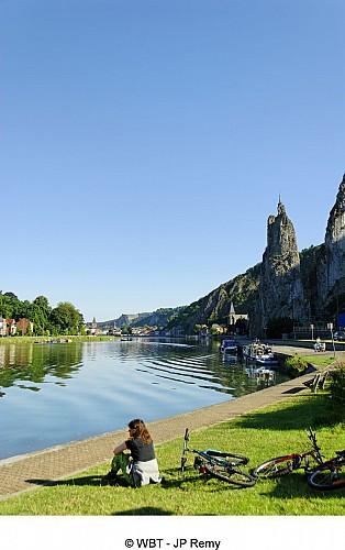 La Meuse à Vélo en Wallonie