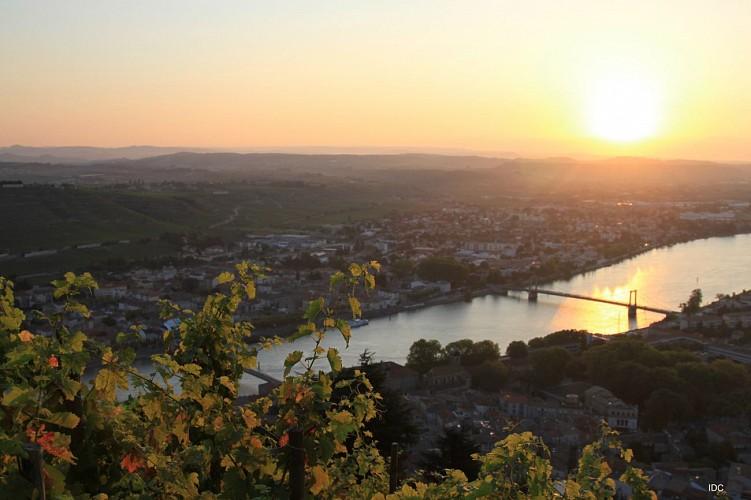 Parcours cyclotouristique Balcons du Rhône et ses affluents