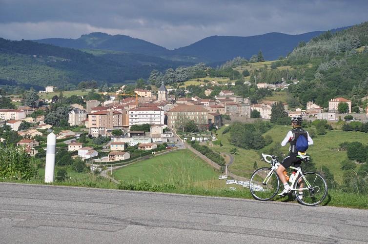 Parcours cyclo Balcons du Rhône et ses affluents