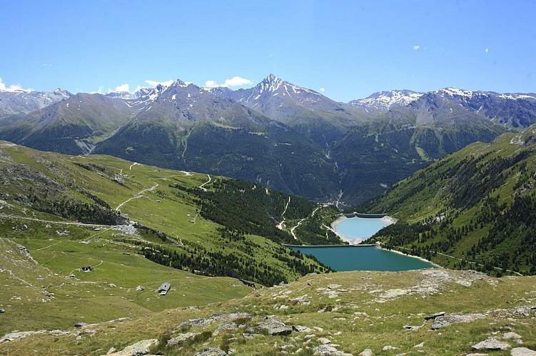 Arrivée du télésiège du Grand Jeu > Refuge de la Fournache