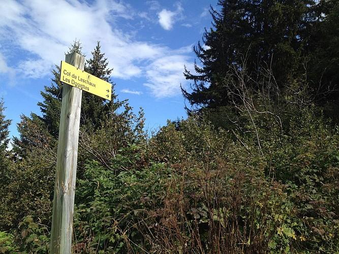La Croix Jean Claude - Randonnée pedestre Saint Martin de Belleville