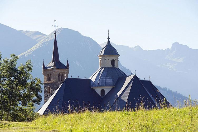 Notre Dame de la Vie Balade VTT Cross Country  Saintt Martin de Belleville