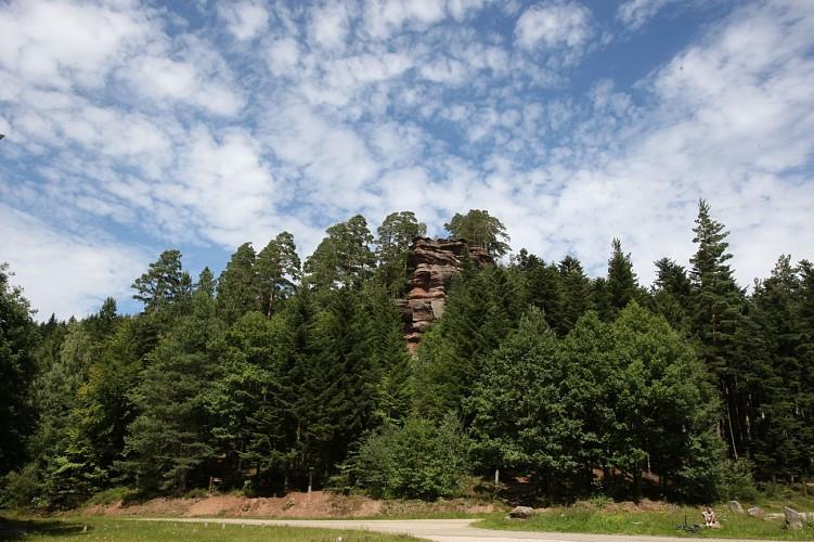Circuit n°6: Sentier des Rochers , proposé par les vétérans de la Montagnarde