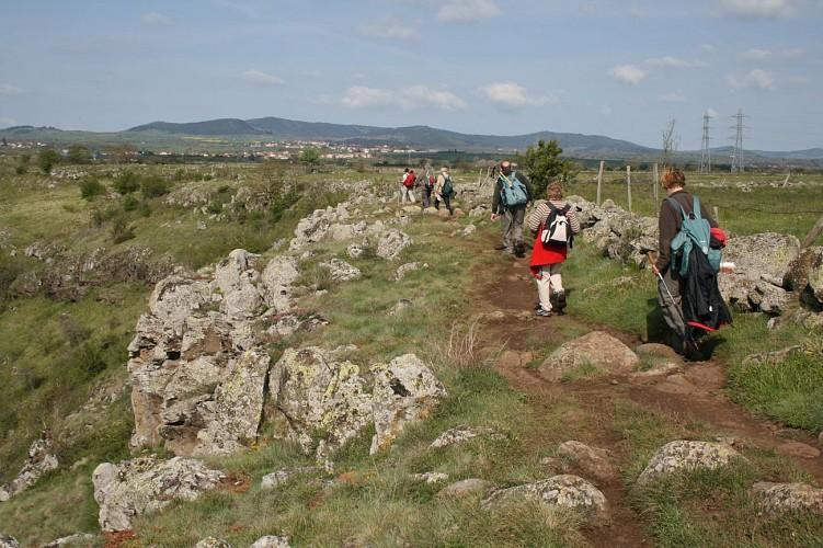 Randonnée pédestre sur le Chemin de Saint Jacques de Compostelle, édition 2013