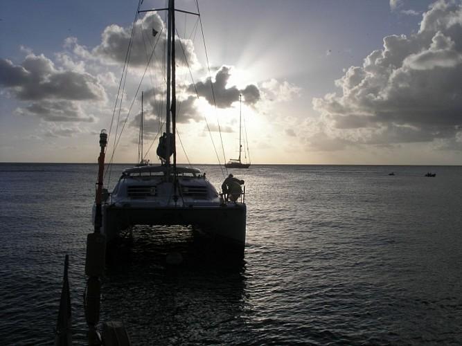 Les caraibes en Catamaran