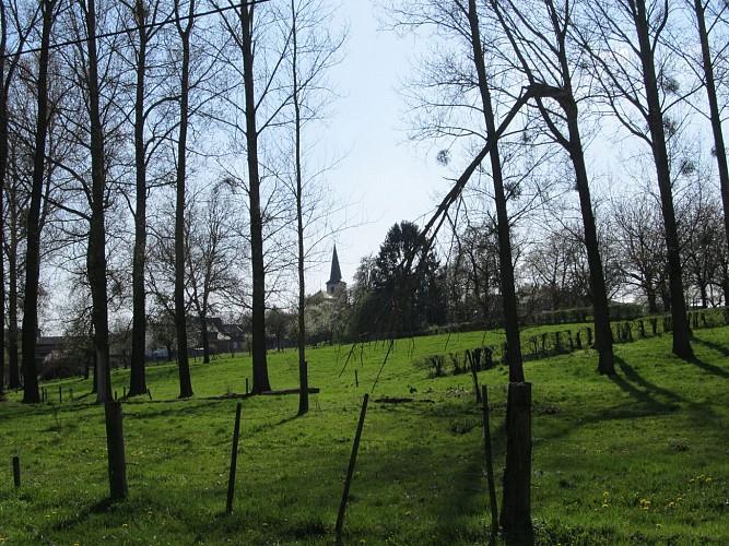 Kluizenaars, heren en heiligen. Fietsroute Alden Biesen, Hoeselt, 's Herenelderen, Genoelselderen en Membruggen