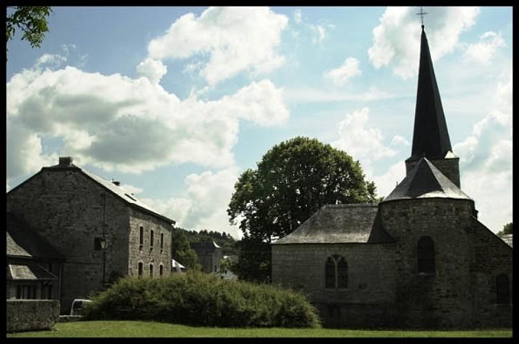Wéris (Durbuy), l'un des plus beaux village de Wallonie : Parcours découverte au travers des patr