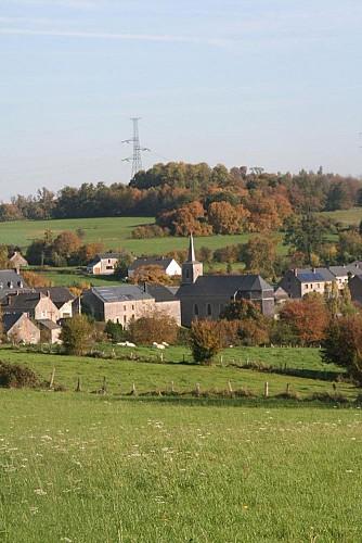 Gendron - Balade pédestre- Roadbook Famenne-Ardenne