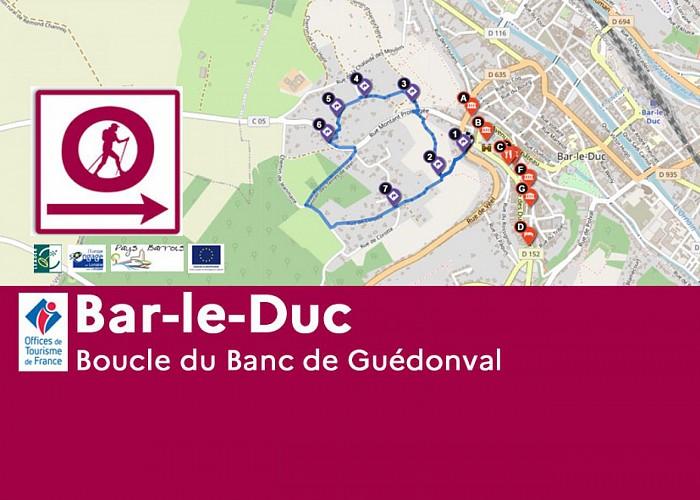 Bar-le-Duc - Banc de Guédonval