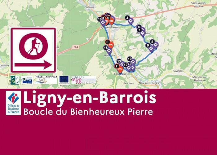Ligny-en-Barrois - Boucle du Bienheureux Pierre