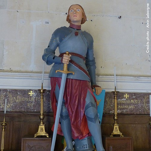 Statue (Eglise St Laurent)