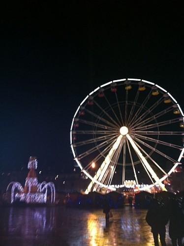 Besançon centre et son marché de Noël