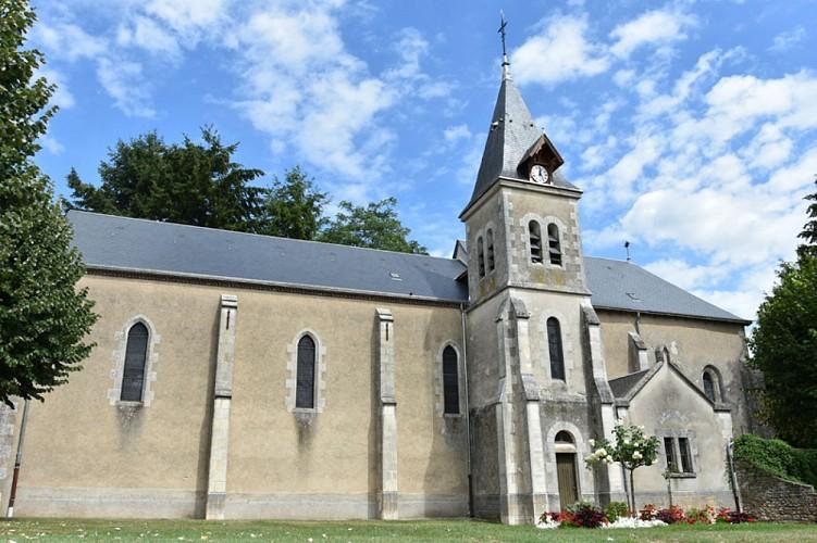 Dammarie en Puisaye- église Ste Marie Madeleine - 1 août 2018 - OT Terres de Loire et Canaux -IRémy (26)