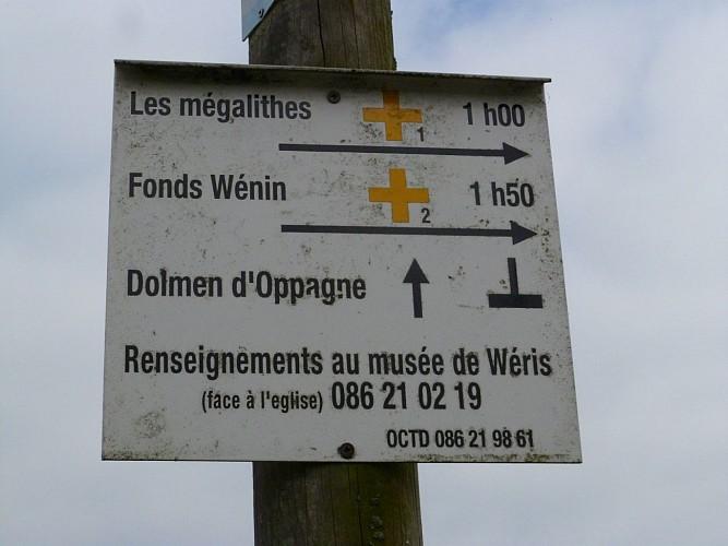 Les Mégalithes (Commune DURBUY)