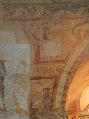 Eglise à fresques de Sargé-sur-Braye