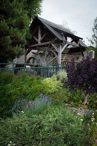 La roue du Moulin Grangeais