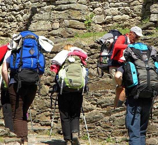 3 jours de randonnée sur les chemins de Saint Jacques de Compostelle
