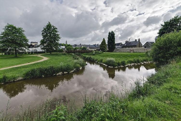 Balade et randonnée VELO - Circuit de Gorron
