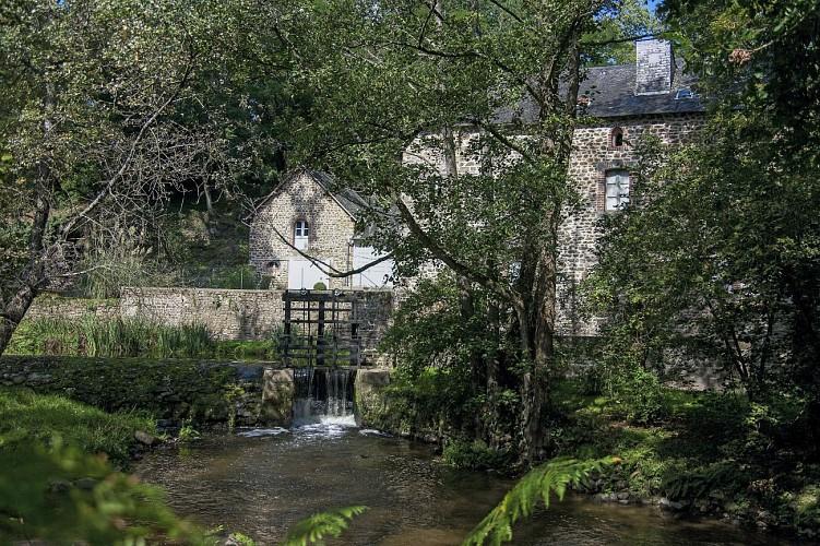Balade et randonnée VELO - Circuit des Moulins au départ de Gorron