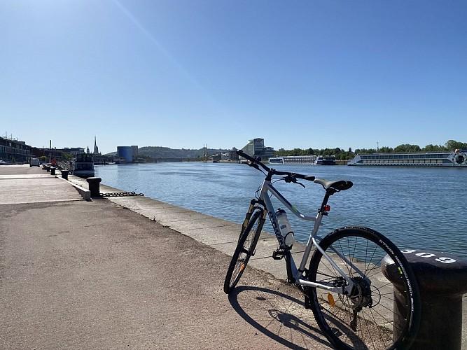 Un jour en famille sur la Seine à Vélo (ouest)