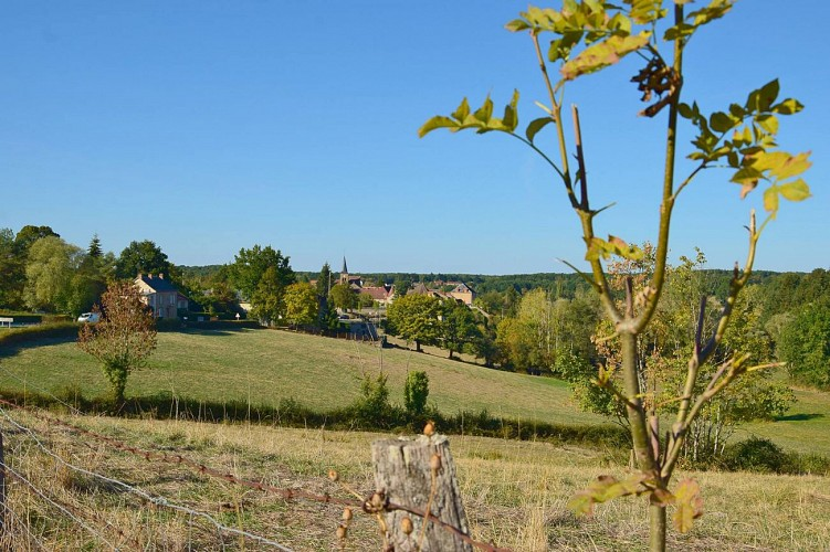 Saint-Hilaire - Chemin de la Galocherie au Tacot