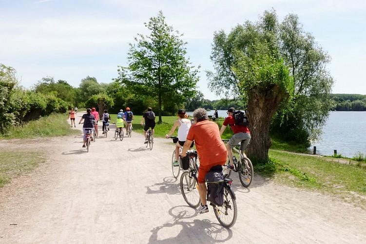 La chaîne des lacs à vélo