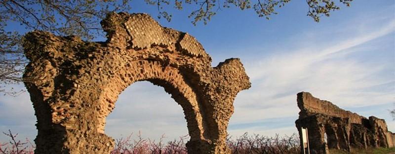 L'aqueduc romain du Gier à Soucieu en Jarrest