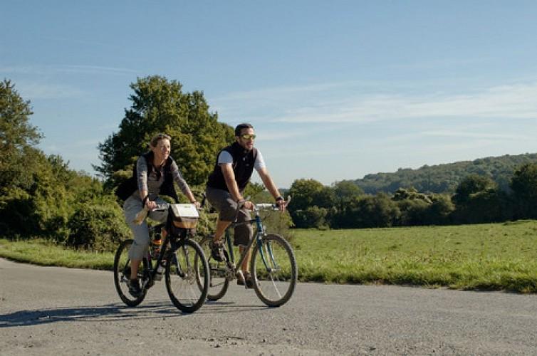 À vélo, dans la belle campagne de la Thiérache
