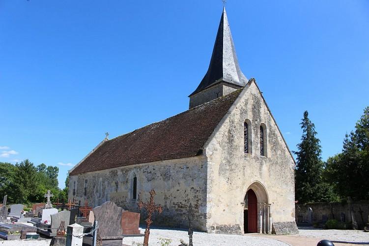 Écouché - Les chapelles via l'église Saint-Brice de Loucé