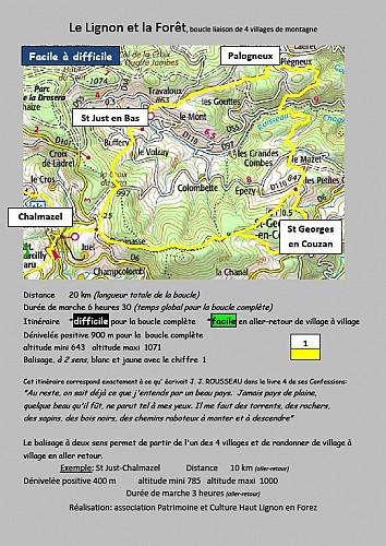 Le Lignon et la forêt