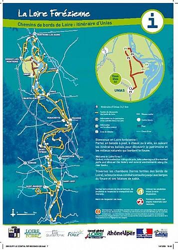 Boucle d'Unias - A la découverte des Bords de Loire