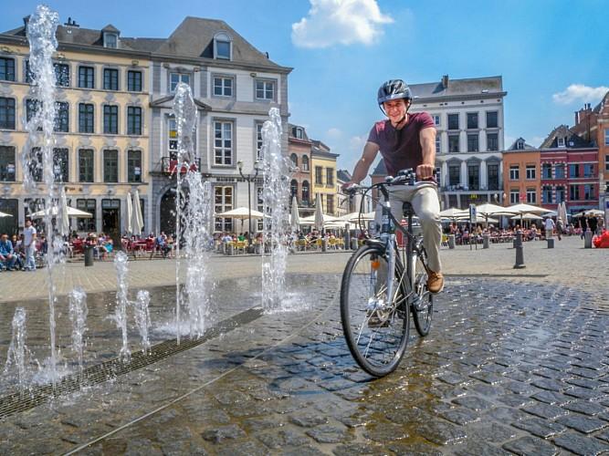 De UNESCO fietsroute - Van Mons naar Binche