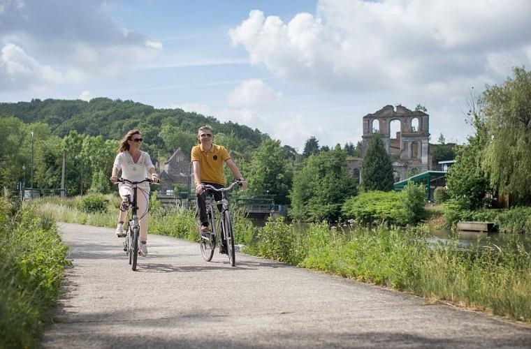 UNESCO fietsroute - Van Thuin naar Charleroi