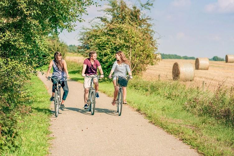 Die UNESCO-Fahrradroute - Etappe 7 von Ciney nach Durbuy