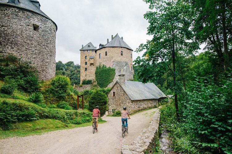 Die UNESCO-Fahrradroute - Etappe 10 von Weismes nach Raeren