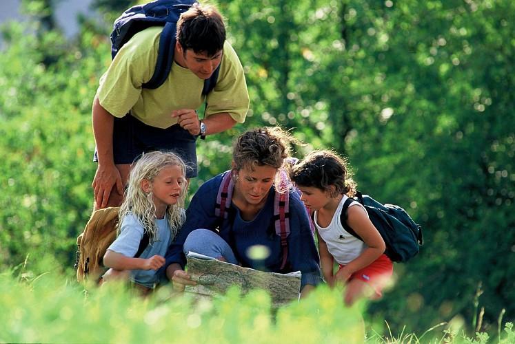 Hiking route : The Boucle de Montorlin
