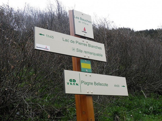 Hiking route : Le Bief